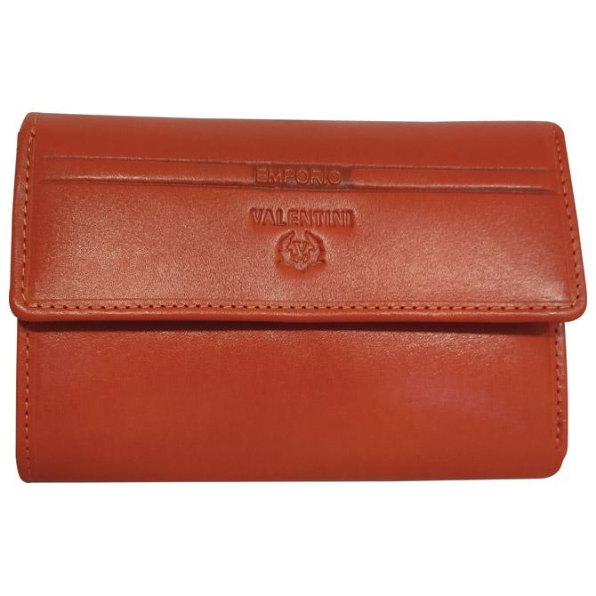 Novčanik kožni ženski Emporio Valentini 563121 narančasti