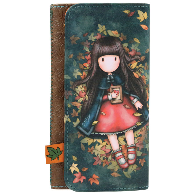 Novčanik umjetna koža gumb Autumn Leaves Gorjuss 341GJ18