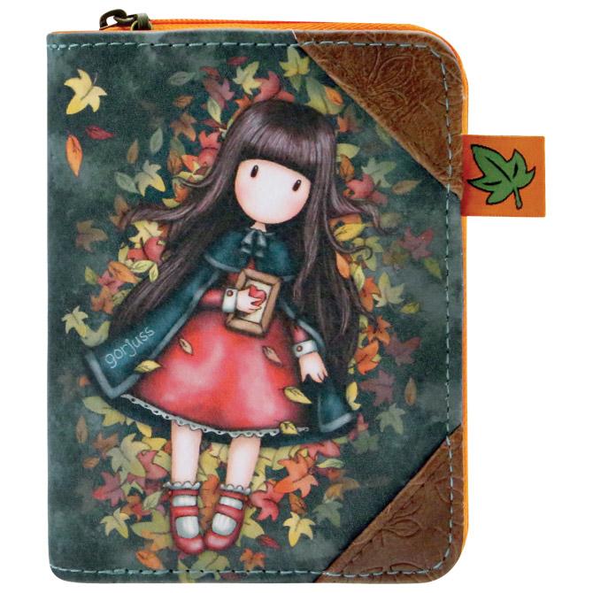 Novčanik zip+gumb Autumn Leaves Gorjuss 903GJ03