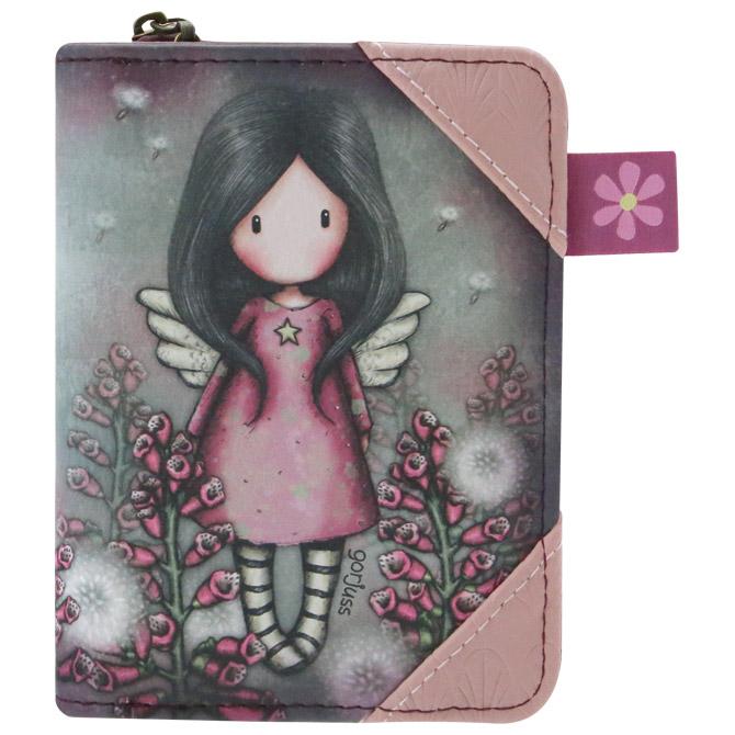 Novčanik zip+gumb Little Wings Gorjuss 903GJ04
