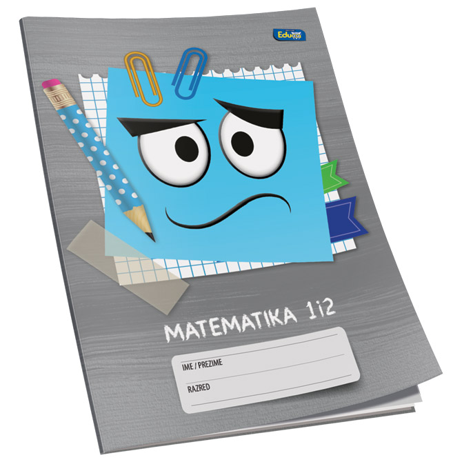 Obrazac školski matematika za 1 i 2razred Educa