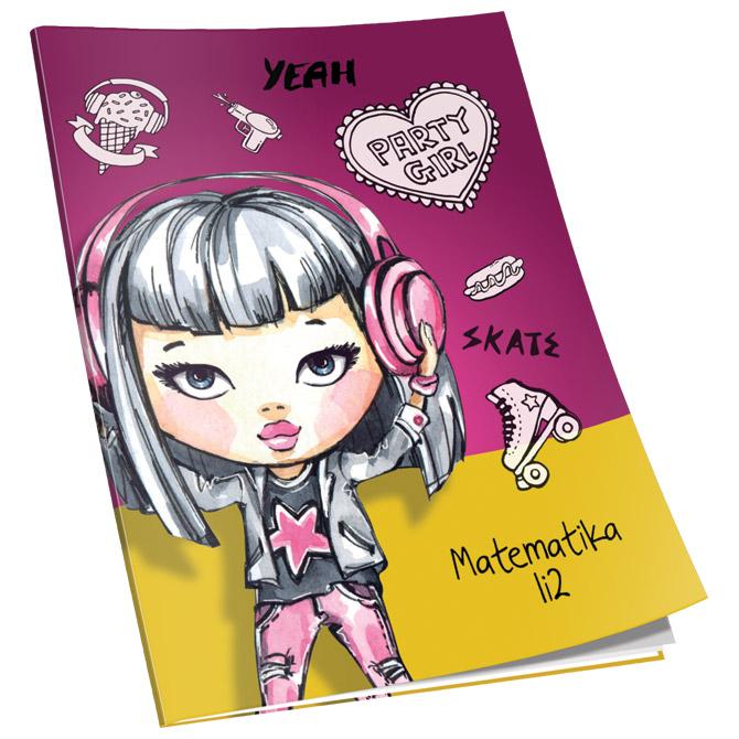 Obrazac školski matematika za 1 i 2razred Soft+ Connect Girl