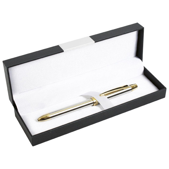 Olovka 3-pen multifunkcijska metalna ELE Penac TF1602SG-ET41 zlatna/srebrna
