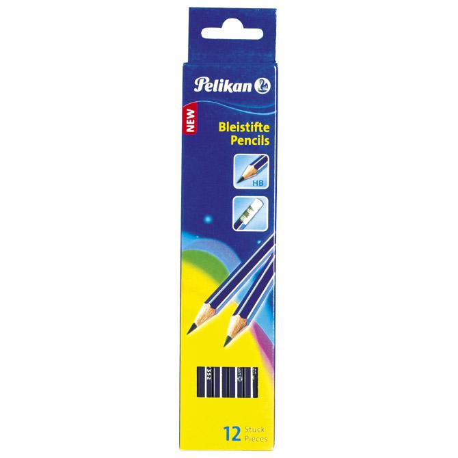 Olovka grafitna HB s gumicom Pelikan 979393-1-KOMAD
