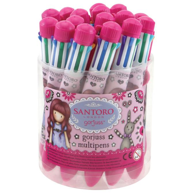 Olovka kemijska Multi Pen Drum My Gift To You 8boja pk16 Gorjuss 503GJD05!!
