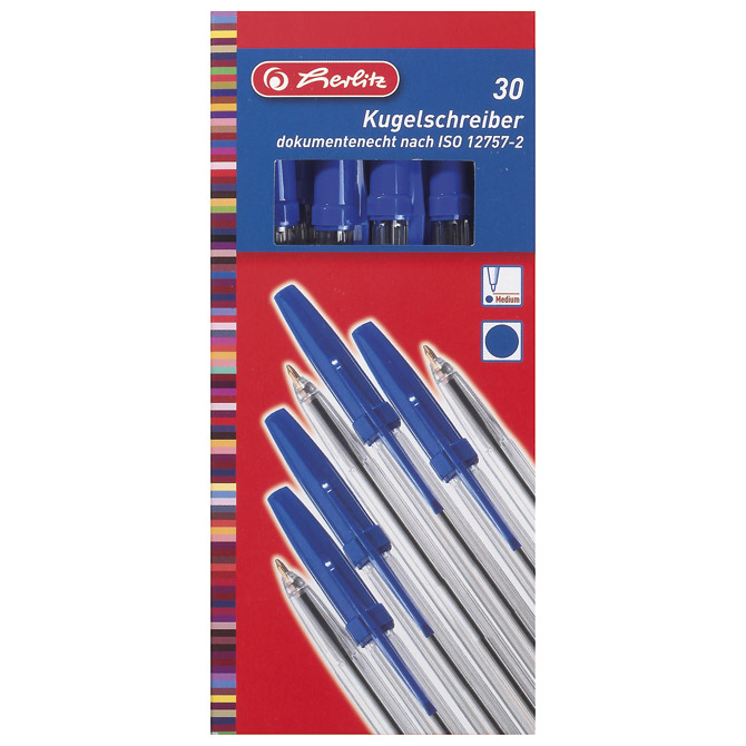 Olovka kemijska Office Herlitz 8600942 plava!!