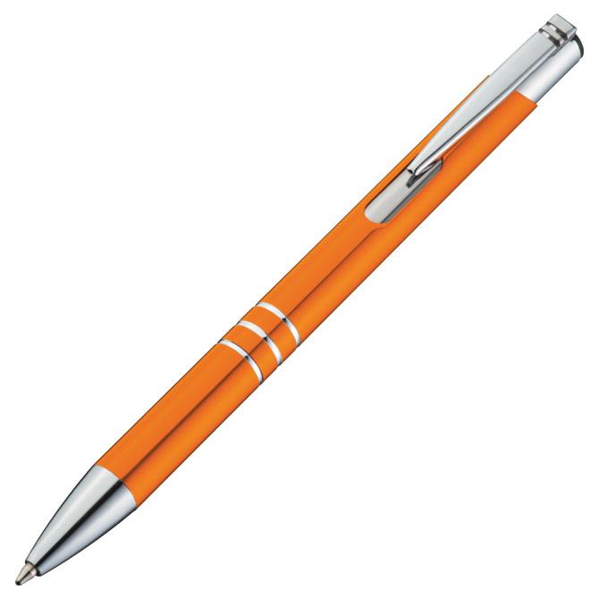 Olovka kemijska metalna Ascot narančasta