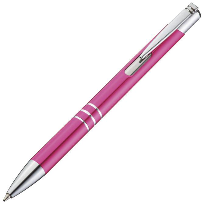Olovka kemijska metalna Ascot roza