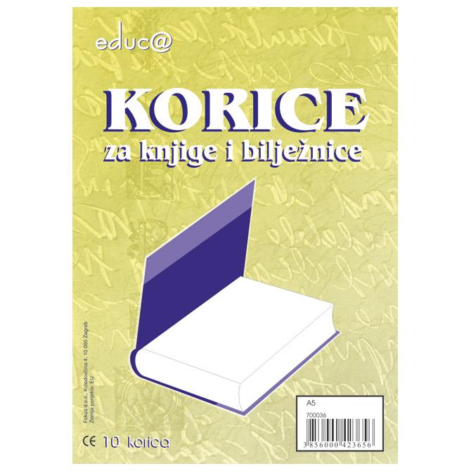 Omotnica-korice za knjige A5 100my pk10 Educa!!