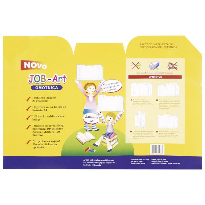Omotnica-korice za knjige univerzalna do A4 pk10 Jobing Art 7700