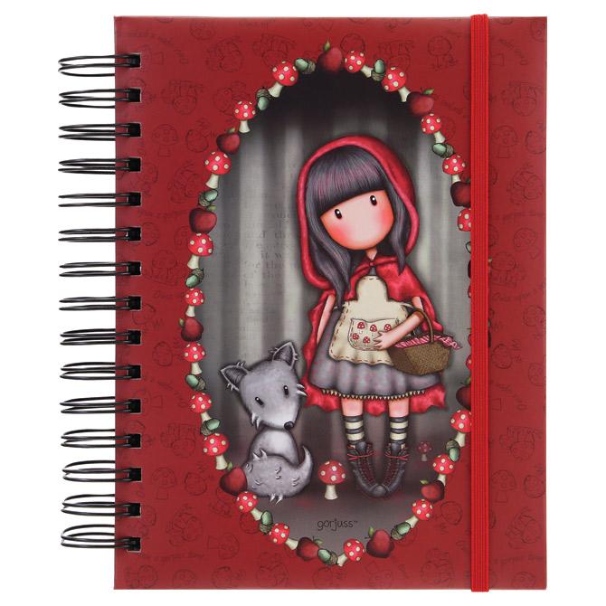 Organizer 18x21cm 108L Little Red Riding Hood Gorjuss 201GJ07!!