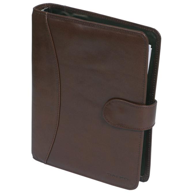 Organizer kožni poslovni B5 Galko 40-0030-1542 tamno smeđi