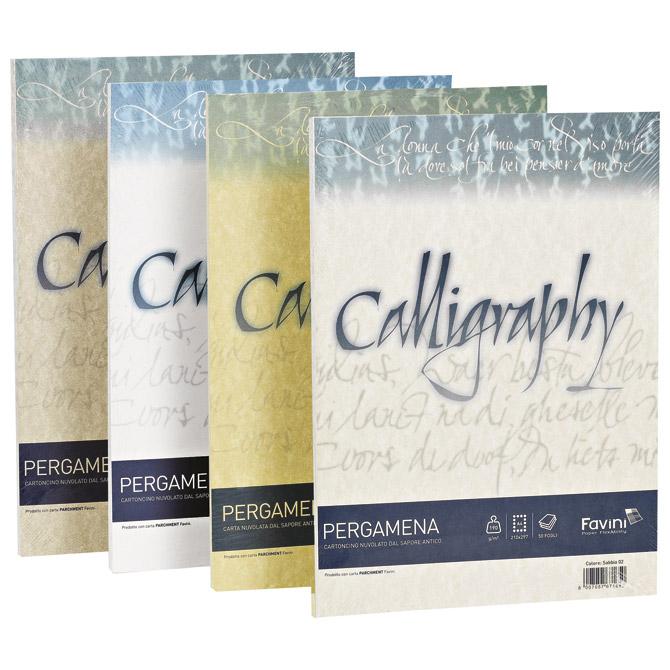 Papir ILK Calligraphy A4 90g pk50 Favini krem