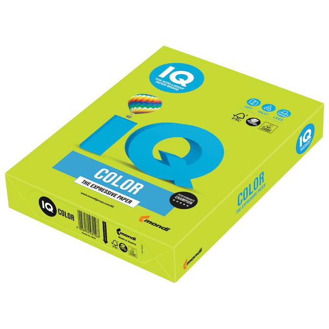 Papir ILK IQ Intenziv A3  80g pk500 Mondi LG46 lipa zeleni