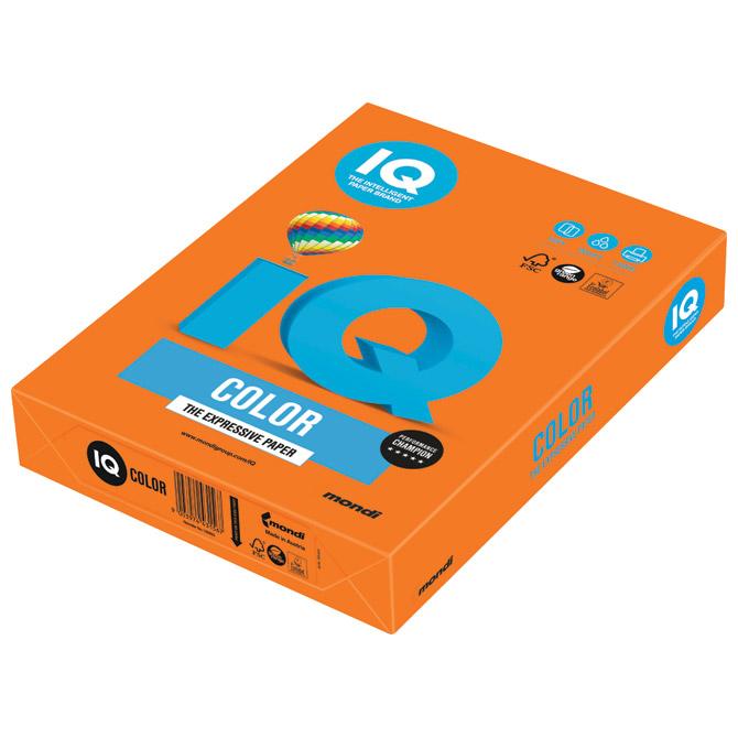 Papir ILK IQ Intenziv A3  80g pk500 Mondi OR43 narančasti!!