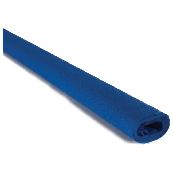 Papir krep  40g 50x250cm Cartotecnica Rossi 228 zagrebačko plavi