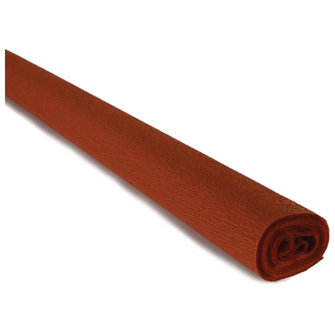 Papir krep  40g 50x250cm Cartotecnica Rossi 241 svijetlo smeđi
