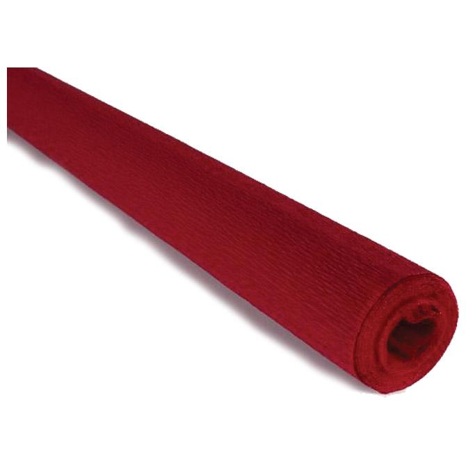 Papir krep  40g 50x250cm Cartotecnica Rossi 319 crveni