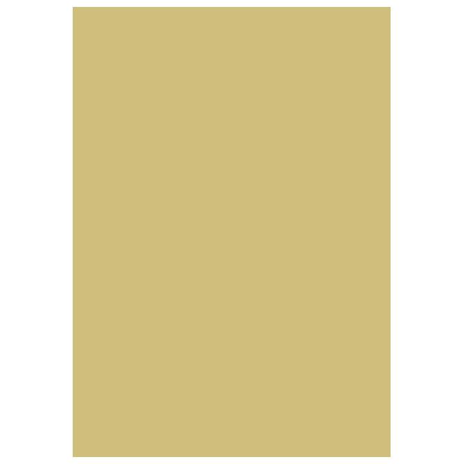 Papir u boji B1 300g Heyda 20-47169 94 mat zlatni