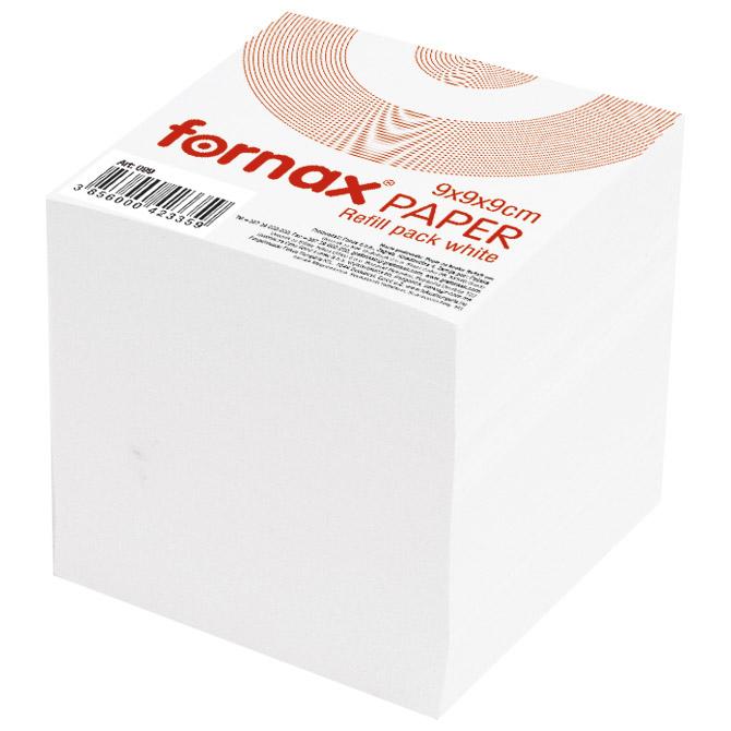 Papir za kocku 9x9x9cm Fornax bijeli
