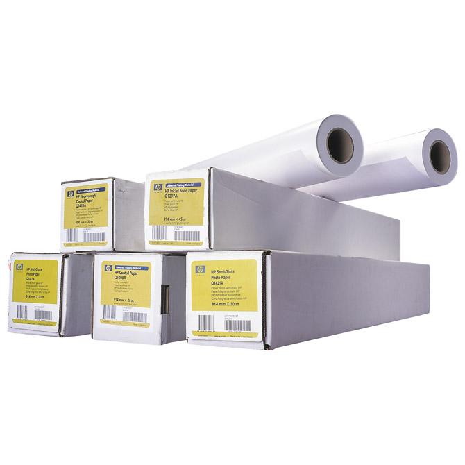 Papir za ploter nepremazni 90g  914mm/45