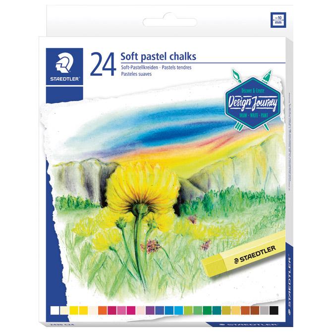 Pastela suha 24boja Design Journey Staedtler 2430 C24 blister