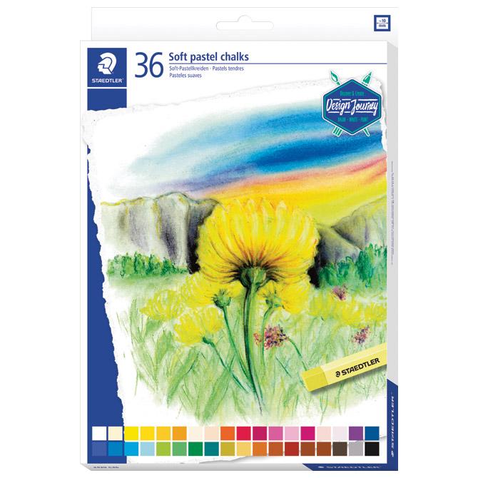 Pastela suha 36boja Design Journey Staedtler 2430 C36 blister