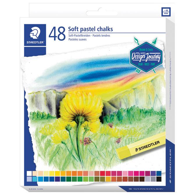 Pastela suha 48boja Design Journey Staedtler 2430 C48 blister