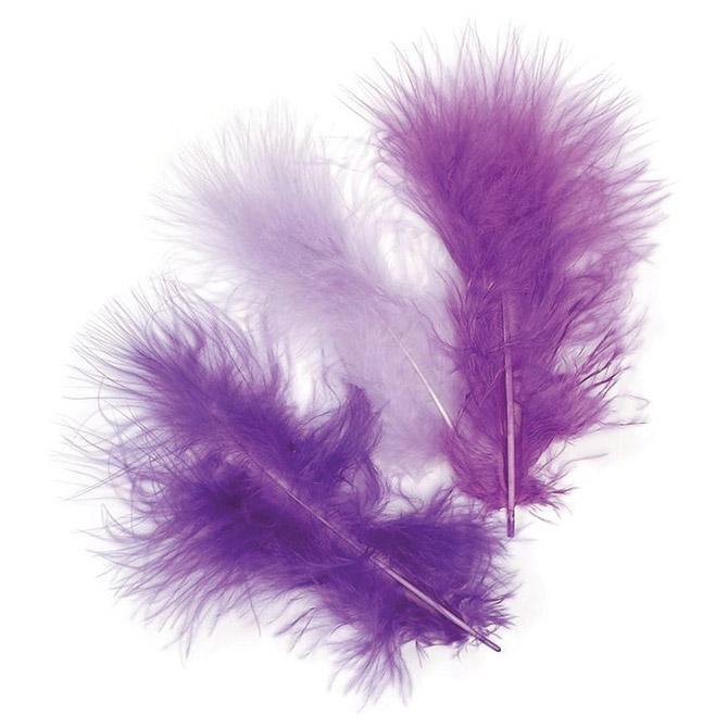 Perje marabu 10cm pk15 Knorr Prandell 21-6619931 ljubičasto!!