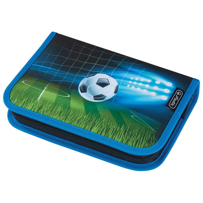 Pernica puna 1zip 2preklopa Soccer Herlitz 50026159