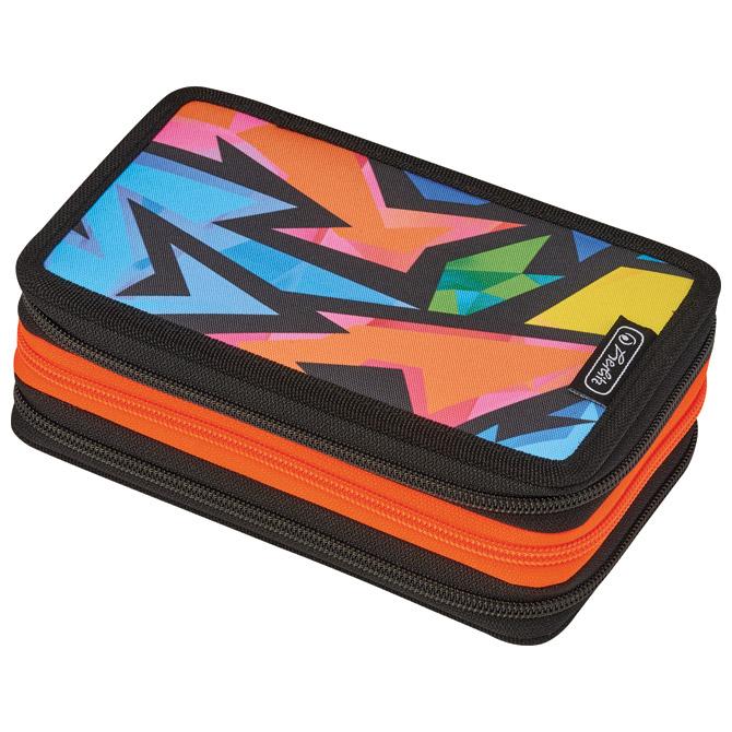 Pernica puna 3zipa Neon art Herlitz 50026753