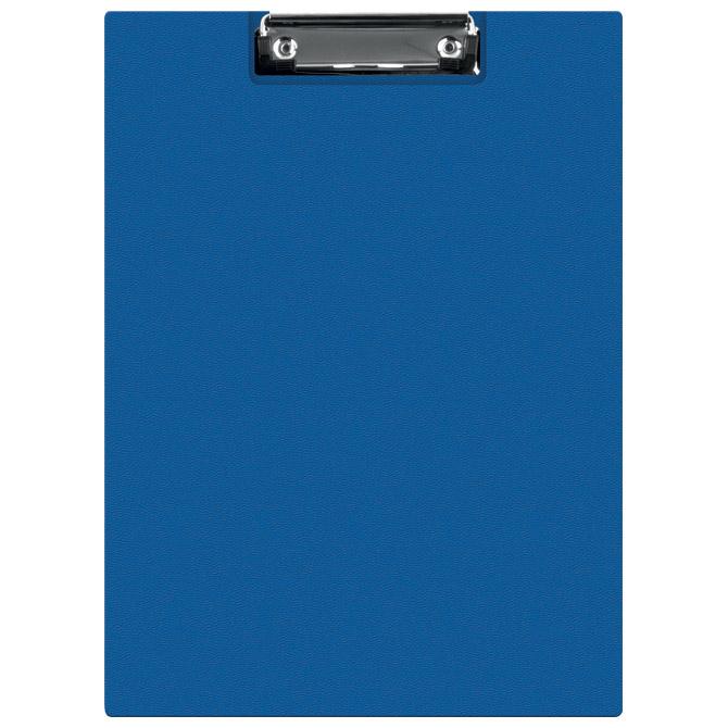 Ploča klip s preklopom+kvačica A4 pp Donau 2705001PL-18 plava