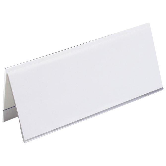 Pločica stolna za natpis pvc 12x5cm Fornax