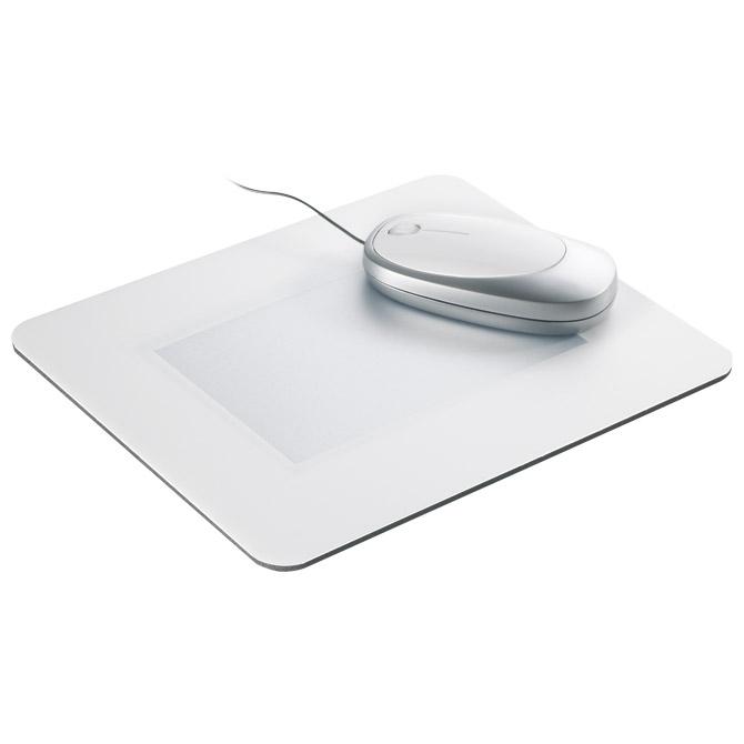 Podloga za miša s okvirom za sliku 23x19cm bijela!!