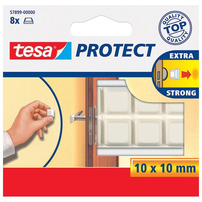 Podložak odbojnik 10x10mm pk8 Tesa 57899-0 bijeli!!
