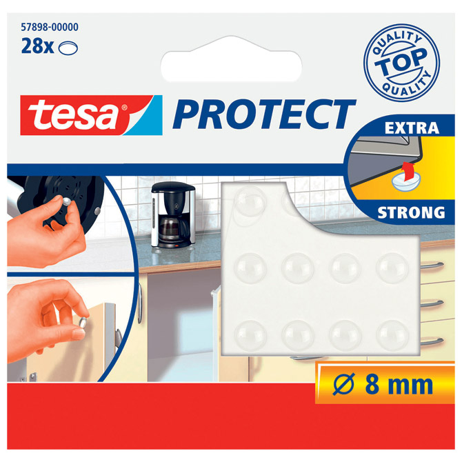 Podložak prigušivač zvuka 8mm pk28 Tesa 57898 prozirni