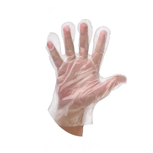 Pribor za čišćenje-rukavice jednokratne PE pk100 prozirne