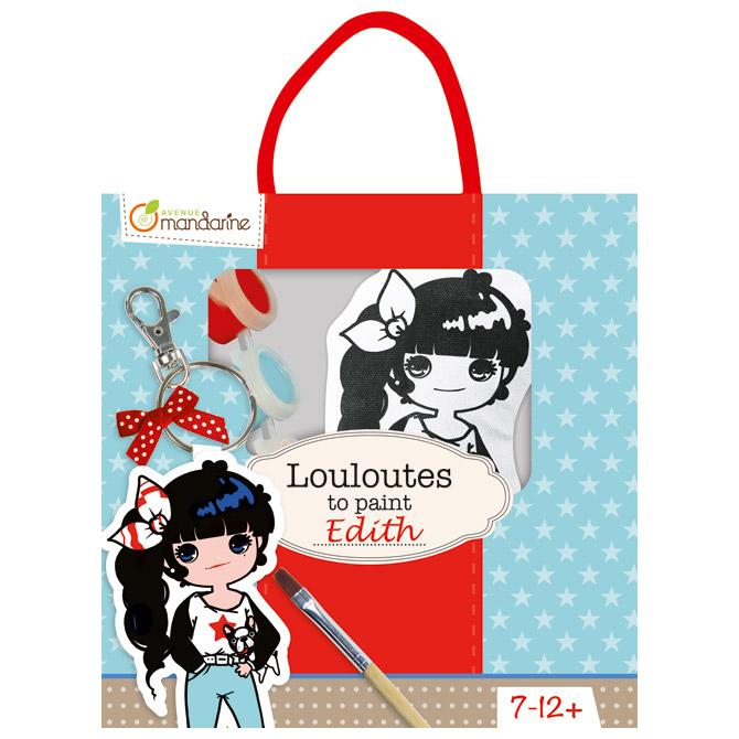 Privjesak za bojanje(djevojčice) u vrećici Avenue Mandarine Clairefontaine PP022O!!