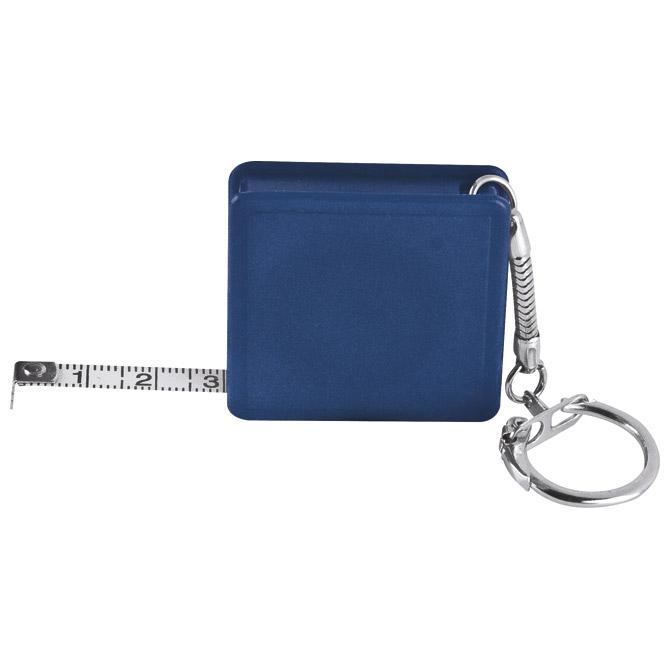 Privjesak za ključeve metar automatski 1m plavi