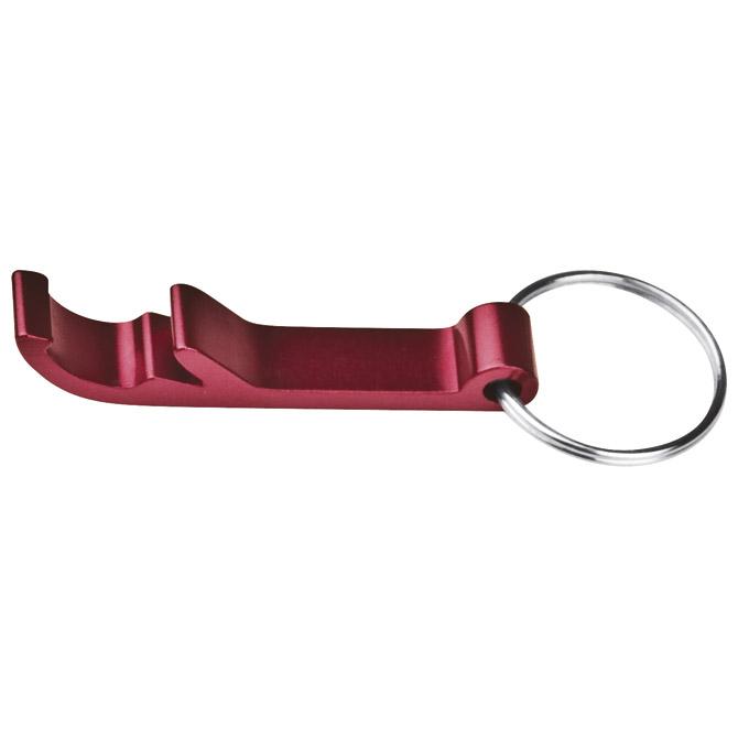 Privjesak za ključeve-otvarač za bocu crveni