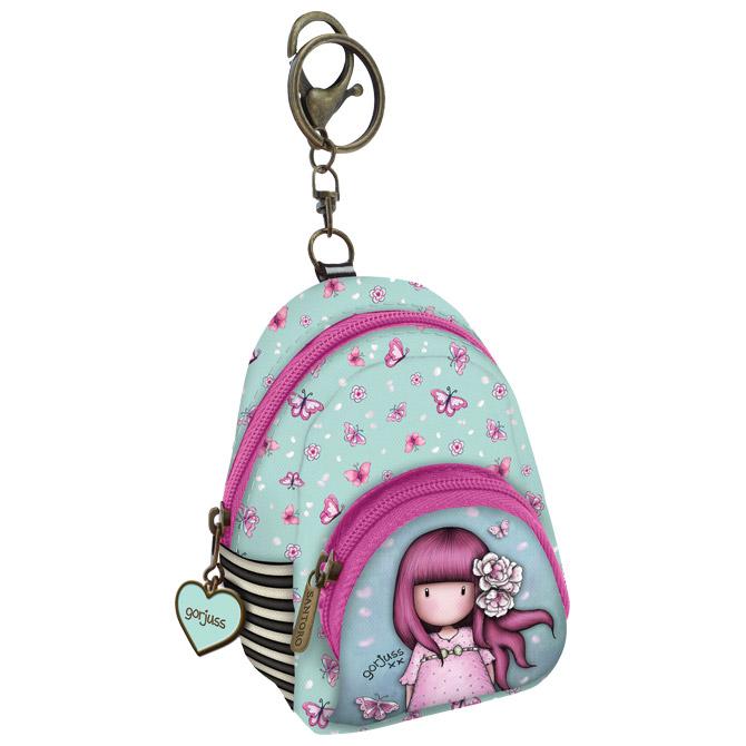 Privjesak za ključeve ruksak 2zipa Cherry Blossom Gorjuss 929GJ03 blister!!