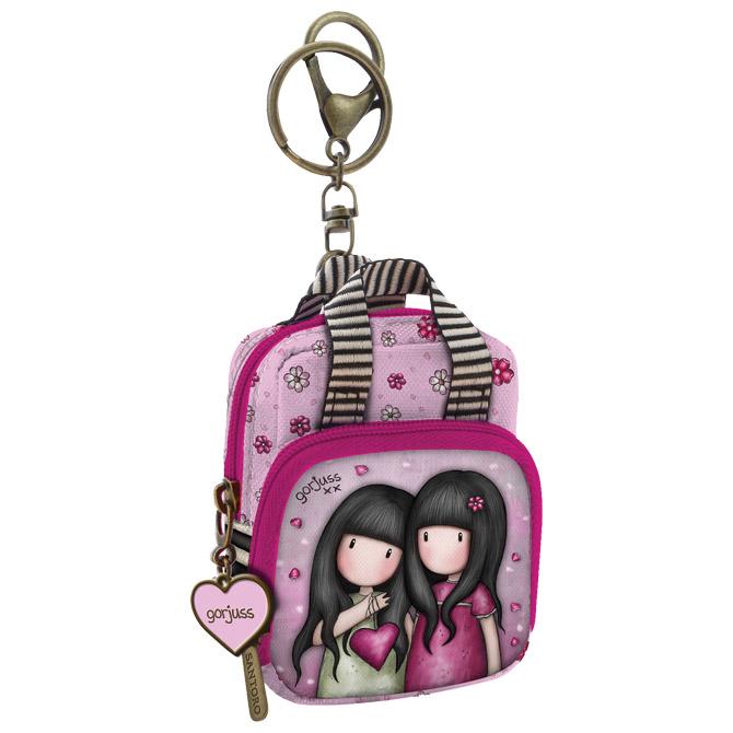 Privjesak za ključeve ruksak You Can Have Mine Gorjuss 930GJ03 blister!!
