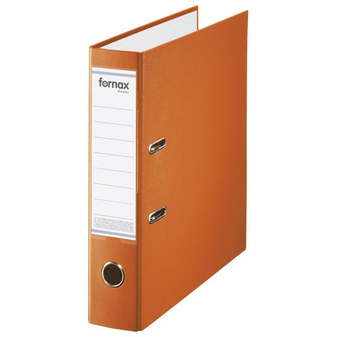 Registrator A4 široki samostojeći Master Fornax (15689) narančasti