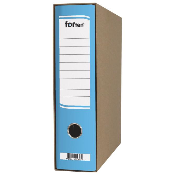Registrator A4 široki u kutiji FORten 28889 plavi
