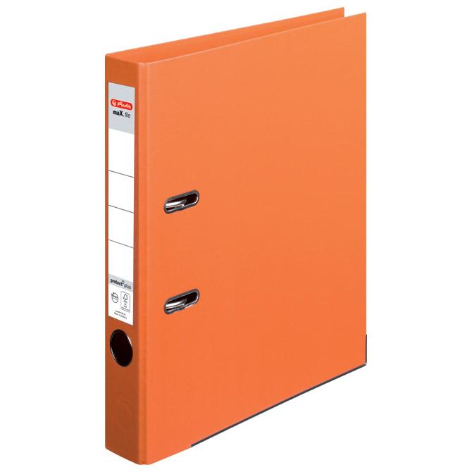 Registrator A4 uski samostojeći maX.file Herlitz 10834869 narančasti