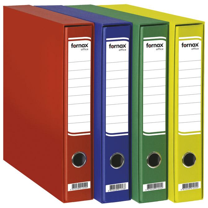 Registrator A4 uski u kutiji Office Fornax crveni
