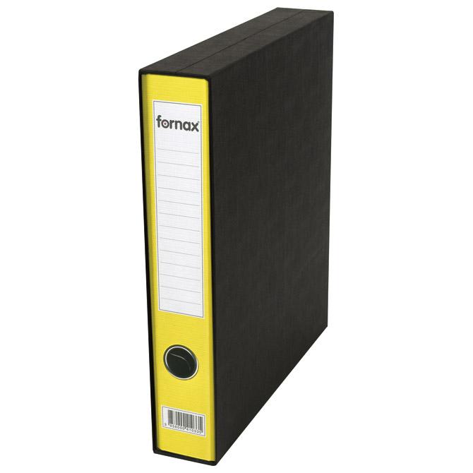Registrator A4 uski u kutiji Prestige Fornax 402343 žuti