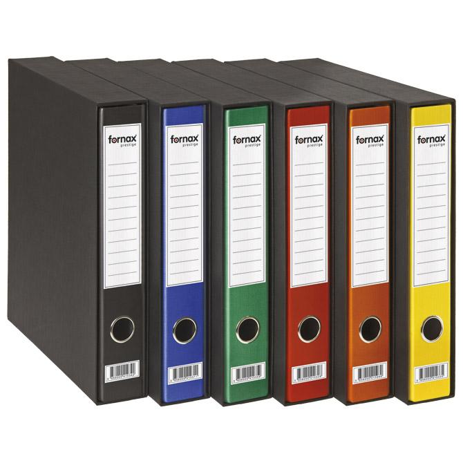 Registrator A4 uski u kutiji Prestige Fornax 402344 crni