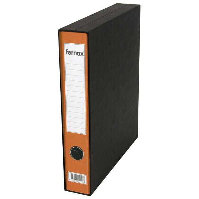 Registrator A4 uski u kutiji Prestige Fornax 402346 narančasti