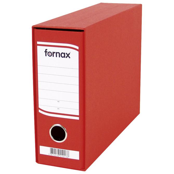 Registrator A5 široki u kutiji Fornax 402931 crveni